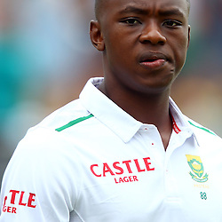 Durban South Africa - December 26, Kagiso Rabada of South Africa during the match between South Africa  and England day 1 of the 1st test , 26 December 2015. (Photo by Steve Haag) images for social media must have consent from Steve Haag