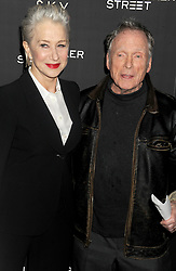 Helen Mirren and Dick Cavett at arrivals for EYE IN THE SKY Premiere, AMC Loews Lincoln Square, New York, NY March 9, 2016. EXPA Pictures © 2016, PhotoCredit: EXPA/ Photoshot/ Dennis Van Tine<br /> <br /> *****ATTENTION - for AUT, SLO, CRO, SRB, BIH, MAZ, SUI only*****