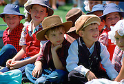 Children at Townsville in Australia