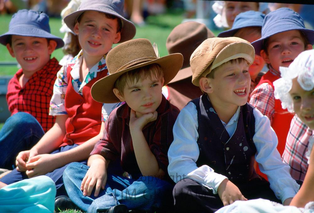 Children at Townsville in Australia