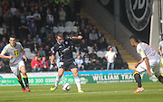 Dundee's Paul McGowan in action against his former club St Mirren - St Mirren v Dundee, SPFL Premiership at St Mirren Park<br /> <br />  - &copy; David Young - www.davidyoungphoto.co.uk - email: davidyoungphoto@gmail.com