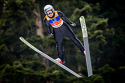 Maren Lundby (NOR) during 1st Round at Day 1 of FIS Ski Jumping World Cup Ladies Ljubno 2018, on January 27, 2018 in Ljubno ob Savinji, Ljubno ob Savinji, Slovenia. Photo by Ziga Zupan / Sportida
