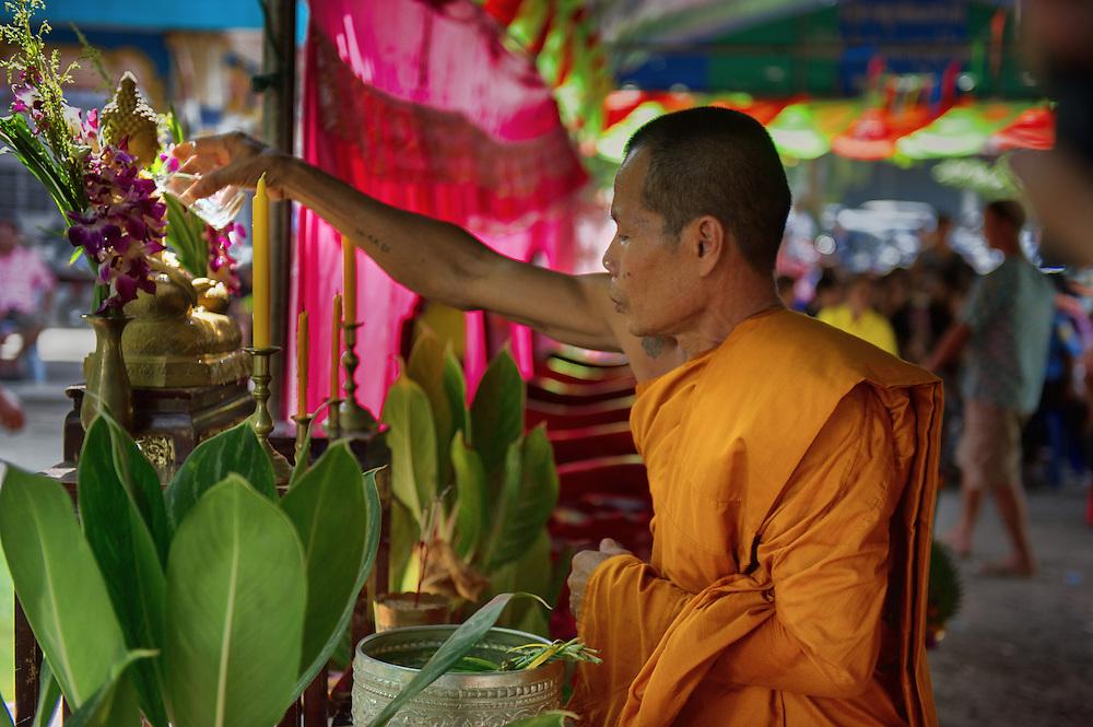 Songkran in Nakhon Nayok, Thailand