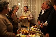 Locals in Strpce celebrates the Slava of Saint Stefan.