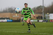 Forest Green Rovers Charlie Cooper(20) during the Vanarama National League match between Forest Green Rovers and Woking at the New Lawn, Forest Green, United Kingdom on 25 February 2017. Photo by Shane Healey.