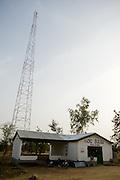 Rural radio station in Builsa, Ghana on Wednesday November 12, 2008.