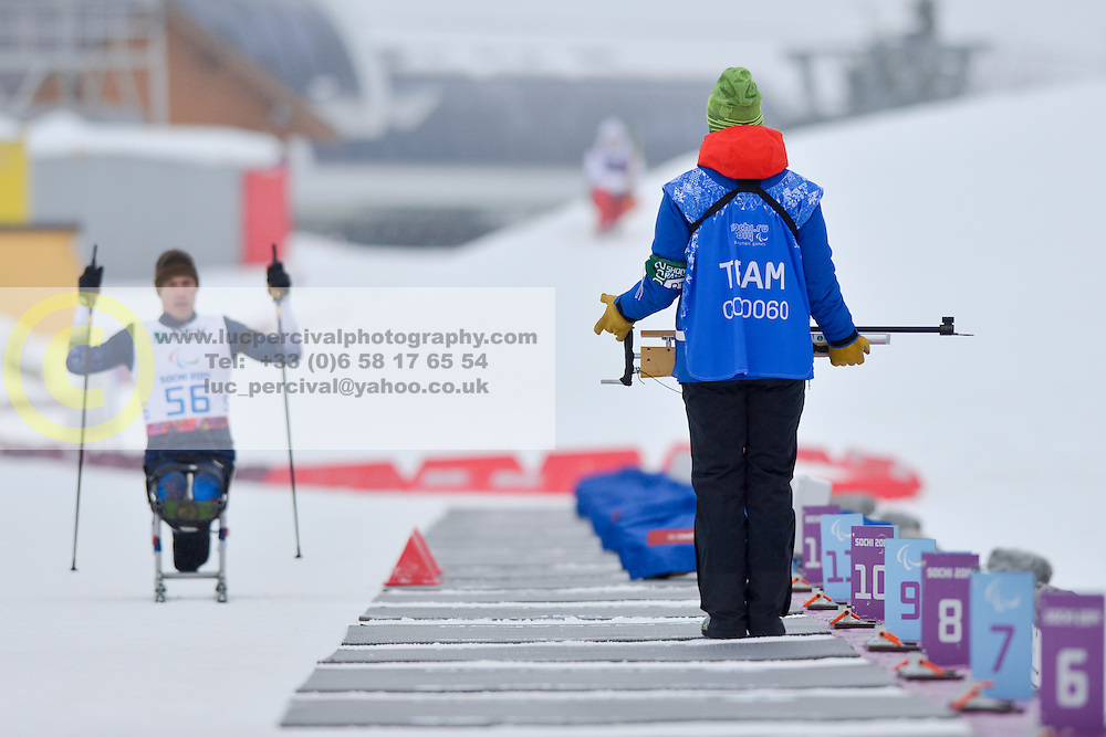 WAGNER Jeremy, Biathlon at the 2014 Sochi Winter Paralympic Games, Russia