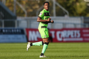 Forest Green Rovers Reece Brown(10) during the EFL Sky Bet League 2 match between Exeter City and Forest Green Rovers at St James' Park, Exeter, England on 27 October 2018.