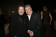 Tim Curry and Terry Jones, Opening of Spamalot at the Night Palace Theatre and afterwards at Freemasons Hall Gt. Queen St.  London. 17 October 2006. -DO NOT ARCHIVE-© Copyright Photograph by Dafydd Jones 66 Stockwell Park Rd. London SW9 0DA Tel 020 7733 0108 www.dafjones.com