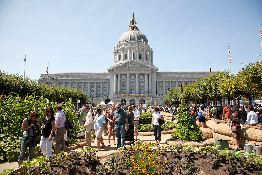 Slow Food celebration in San Francisco, California