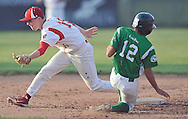 Holy Name vs Firelands in a high school baseball game at The Pipe Yard in Lorain, Ohio on May 20, 2013.
