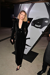 Tess Ward at the Veuve Clicquot Widow Series launch party curated by Carine Roitfeld and CR Studio held at Islington Green, London England. 19 October 2017.