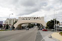 10.01.2012, Marbella, Spanien, ESP, Marbella im Focus, im Bild Ortseinfahrt von Marbella, Andalusien, Spanien. EXPA Pictures © 2012, PhotoCredit: EXPA/ Eibner/ Andre Latendorf..***** ATTENTION - OUT OF GER *****