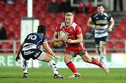 Ulster Outside Centre Stuart Olding (captain) - Mandatory byline: Dougie Allward/JMP - 22/01/2016 - RUGBY - Ashton Gate -Bristol,England - Bristol Rugby v Ulster Rugby - B&I Cup