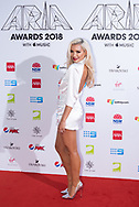 Havana Brown at The 2018 ARIA Awards at The Star in Sydney, Australia