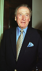 LORD HANSON  at a party in London on 17th June 1999.MTK 6