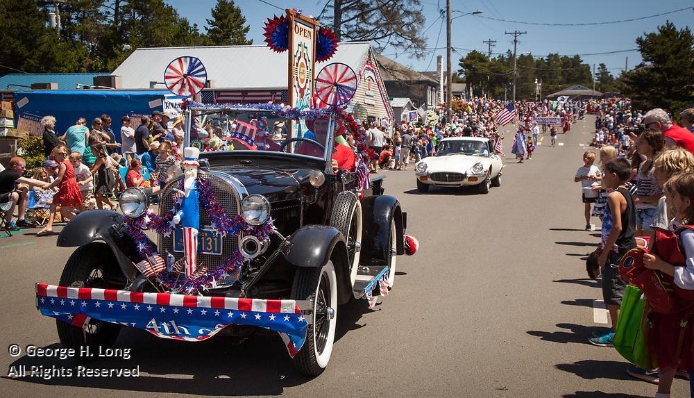 Manzanita, Oregon on the fourth of July, 2015