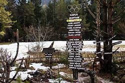 Prihod olimpijske bakle v Mojstrano, on January 10, 2018 in Mojstrana, Mojstrana, Slovenia. Photo by Ziga Zupan / Sportida