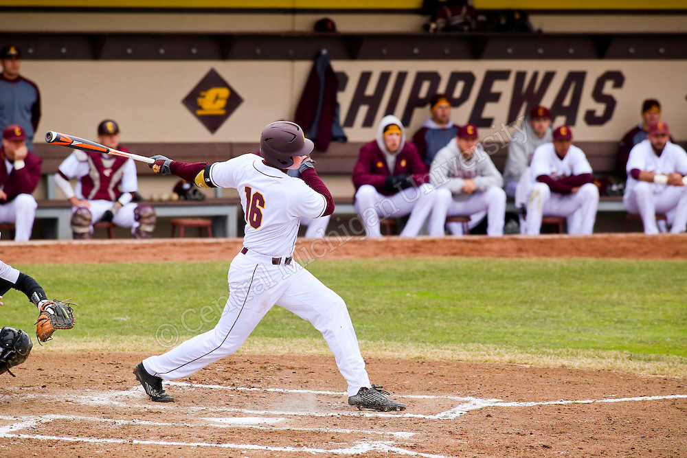 CMU's baseball took on Oakland at Theunissen Stadium.