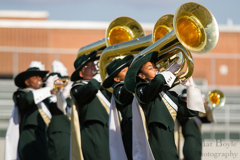 Pemberton High School's marching band performs at the South Jersey Chapter Championships held at Clearview High School on Sunday October 21, 2012. (photo / Mat Boyle)