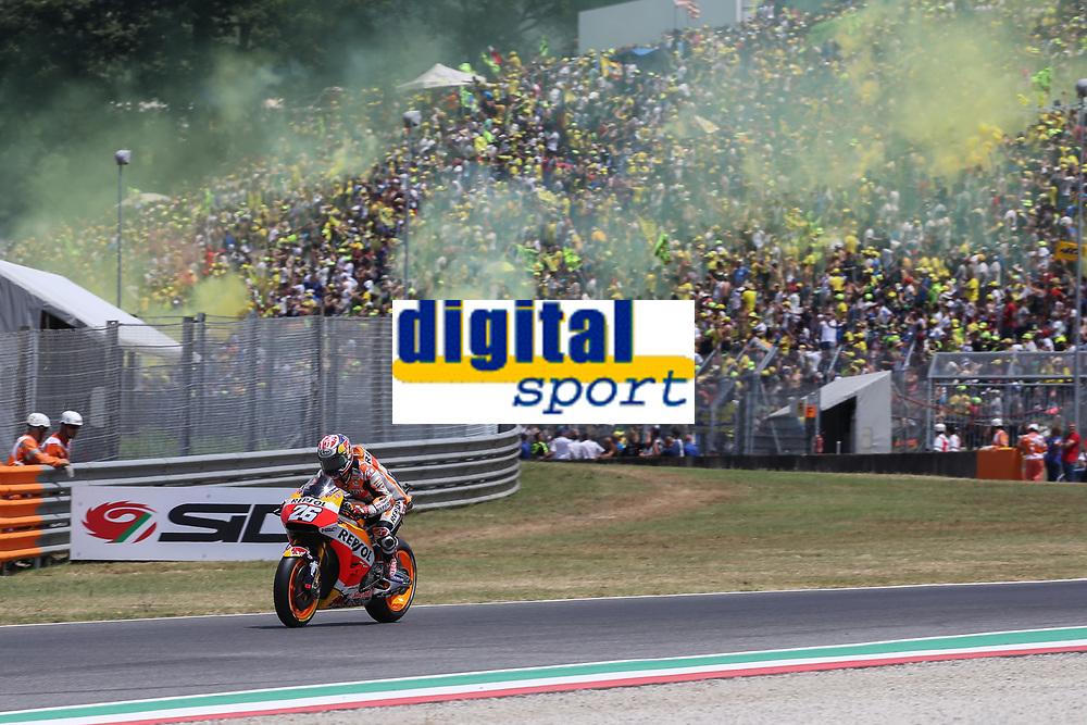 Dani Pedrosa of Spain and Repsol Honda Team during the MotoGP Italy Grand Prix 2017 at Autodromo del Mugello, Florence, Italy on 4th June 2017. Photo by Danilo D'Auria.<br /> <br /> Danilo D'Auria/UK Sports Pics Ltd/Alterphotos