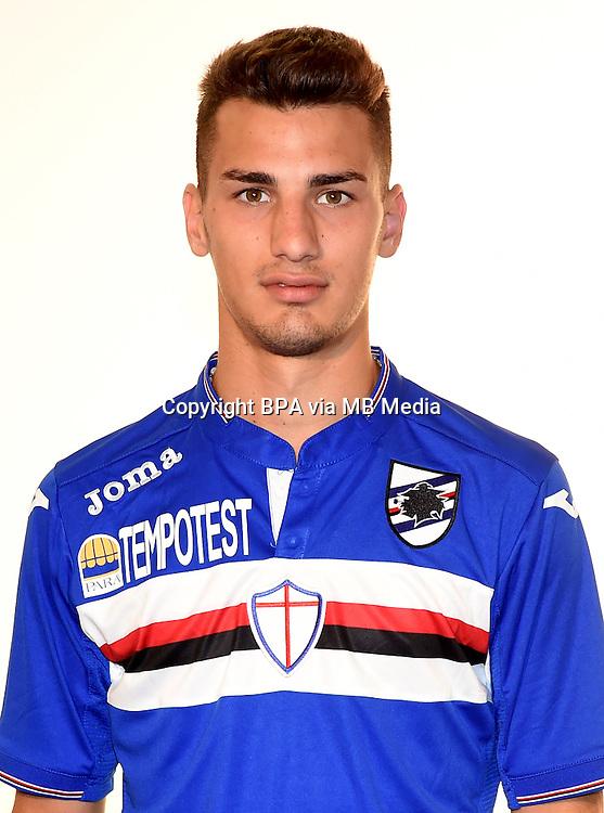 Italian League Serie A -2015-2016 / <br /> ( UC Sampdoria  ) - <br /> Federico Bonazzoli