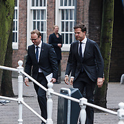 NLD/Delft/20131102 - Herdenkingsdienst voor de overleden prins Friso, premier Mark Rutte