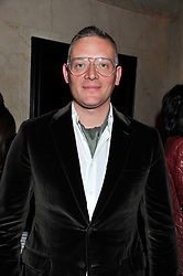 GILES DEACON at the Harper's Bazaar Women of the Year Awards 2011 held at Claridge's, Brook Street, London on 7th November 2011.