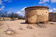 The cemetery and mortuary chapel, Tumacacori National Historic Park, Arizona