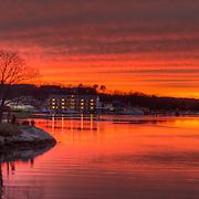 Sunset on the Annisquam River, Gloucester
