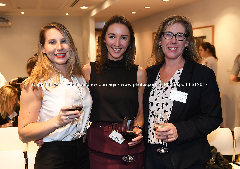 Women in Sport function, Vero Centre. McKayson NZ Women's Open 2017. LPGA Tour. Windross Farm, Auckland, New Zealand. Monday 25 September 2017. © Copyright Photo: Andrew Coranga /www.photosport.nz