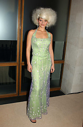 ARABELLA TOBIAS wife of actor Oliver Tobias at a fashion show of the new fashion label Chester Bonham held at the Aston Martin Showroom, Park Lane, London on 15th November 2004.<br /><br />NON EXCLUSIVE - WORLD RIGHTS