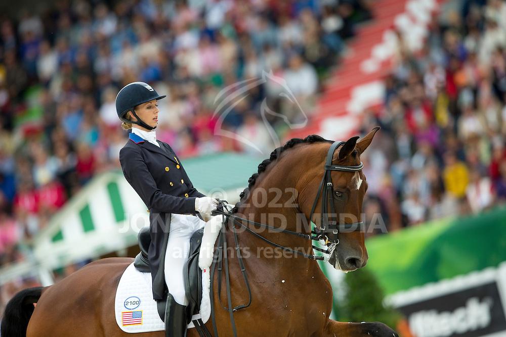 Laura Graves, (USA), Verdades - Grand Prix Special Dressage - Alltech FEI World Equestrian Games&trade; 2014 - Normandy, France.<br /> &copy; Hippo Foto Team - Leanjo de Koster<br /> 25/06/14