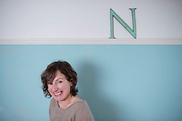 Picture By Jim Wileman 30/12/2013  Author Nina Stibbe, pictured at home in Truro, Cornwall.