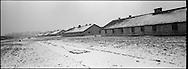 Le fondamente delle baracche del 'Blocco della Morte' dove venivano condotti svariati esperimenti sui prigionieri