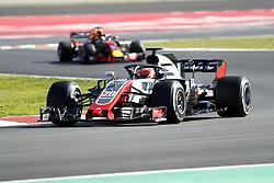 March 6, 2018 - Barcelona, Spain - Testvecka 2, Formel 1, Barcelona ..Kevin Magnussen, Haas (Credit Image: © JerrevÃ…Ng Stefan/Aftonbladet/IBL via ZUMA Wire)