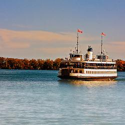 Centre Island Ferry, Toronto, Canada.