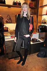 JADE PARFITT at the opening of Loewe's new boutique at 125 Mount Street, London on 23rd March 2011.
