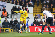 Millwall defender Shaun Cummings (2) during the The FA Cup quarter-final match between Tottenham Hotspur and Millwall at White Hart Lane, London, England on 12 March 2017. Photo by Phil Duncan.