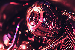 28.06.2019, Schladming, AUT, Rock the Roof 2019, im Bild Harley Davidson Motorrad Detail // Harley Davidson Motorcycle Detail during the Rock the Roof Biker Meeting in Schladming, Austria on 2019/06/28. EXPA Pictures © 2019, PhotoCredit: EXPA/ JFK