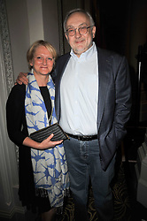 PIERRE KOFFMAN and CLAIRE HARRISON at the Tatler Restaurant Awards 2011 held at the Langham Hotel, Portland Place, London on 9th May 2011.