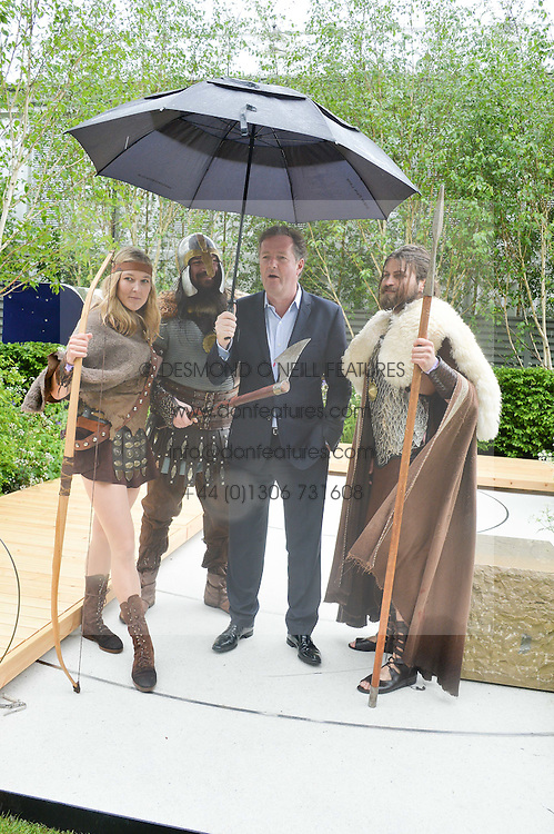 PIERS MORGAN at the 2015 RHS Chelsea Flower Show at the Royal Hospital Chelsea, London on 18th May 2015.