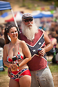 Robert Sprague and his wife Rawni at the annual Summer Redneck Games Dublin, GA.