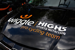 Wiggle High5 at Ladies Tour of Norway 2018 Stage 1, a 127.7 km road race from Rakkestad to Mysen, Norway on August 17, 2018. Photo by Sean Robinson/velofocus.com