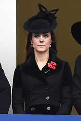 © Licensed to London News Pictures. 08/11/2015. London, UK.CATHERINE, DUCHESS OF CAMBRIDGE attends the Remembrance Sunday Service at the Cenotaph in Westminster, Central London.. Photo credit: Ben Cawthra/LNP