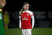 Arsenal midfielder Danielle Van de Donk (7) during the FA Women's Super League match between Arsenal Women and Yeovil Town Women at Meadow Park, Borehamwood, United Kingdom on 20 February 2019.