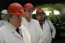 Bergwerk und marodes Atommülllager ASSE II bei Wolfenbüttel. Besuch von Reinhard Bütikhofer unter Tage. <br /> <br /> Ort: ASSE<br /> Copyright: Volker Möll<br /> Quelle: PubliXviewinG