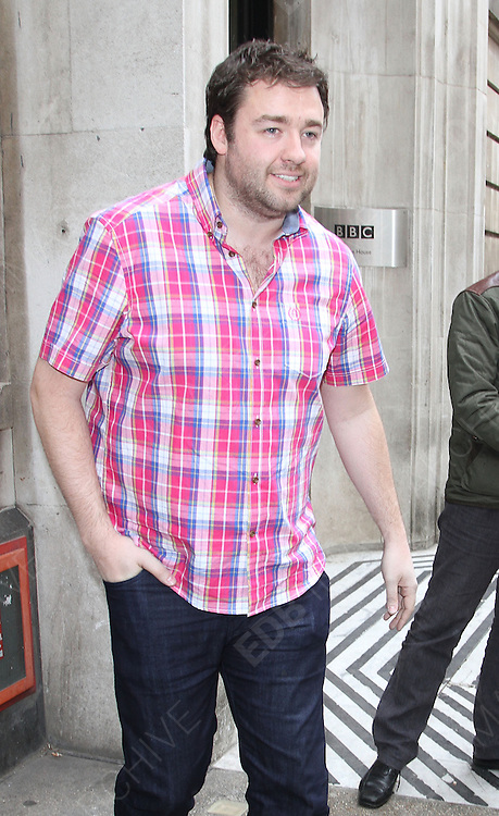 12.MAY.2013. LONDON<br /> <br /> JASON MANFORD LEAVING THE BBC RADIO TWO STUDIO IN LONDON.<br /> <br /> BYLINE: EDBIMAGEARCHIVE.CO.UK<br /> <br /> *THIS IMAGE IS STRICTLY FOR UK NEWSPAPERS AND MAGAZINES ONLY*<br /> *FOR WORLD WIDE SALES AND WEB USE PLEASE CONTACT EDBIMAGEARCHIVE - 0208 954 5968*