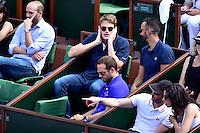 Yannick AGNEL / Fred MICHALAK  - 27.05.2015 - Jour 4 - Roland Garros 2015<br />Photo : Dave Winter / Icon Sport