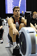 Birmingham, Great Britain. Men's open weight, Tom SOLEBURY, competes at the British Indoor Rowing Championships, National Indoor Arena, NIA, Sun, 22.11.2009  [Mandatory Credit. Peter Spurrier/Intersport Images]